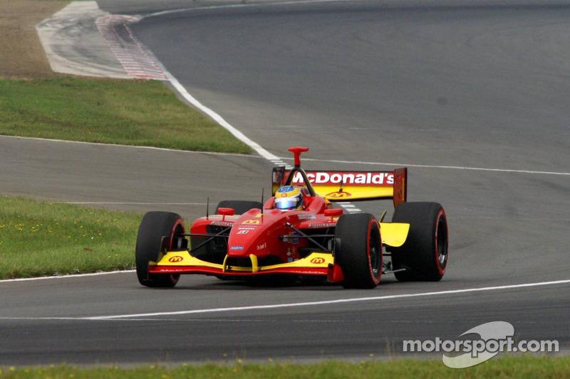 On pace lap: Sébastien Bourdais