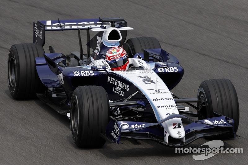 2007 год: Казуки Накаджима, Williams FW29 Toyota