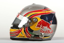 Adrian Zaugg, driver of A1 Team South Africa, helmet