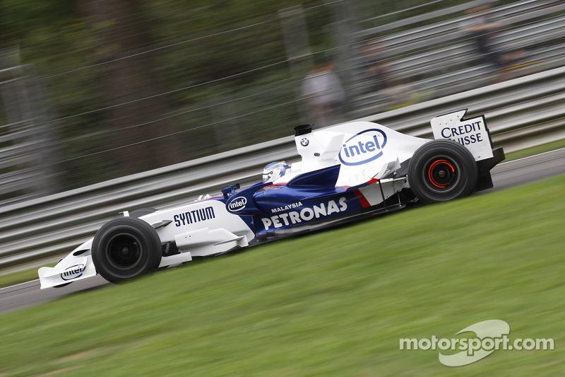 2007: BMW-Sauber F1.07 (два подиума, 2-е место в КК)