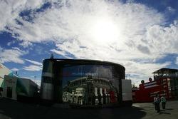 McLaren Mercedes in the Formula 1 paddock