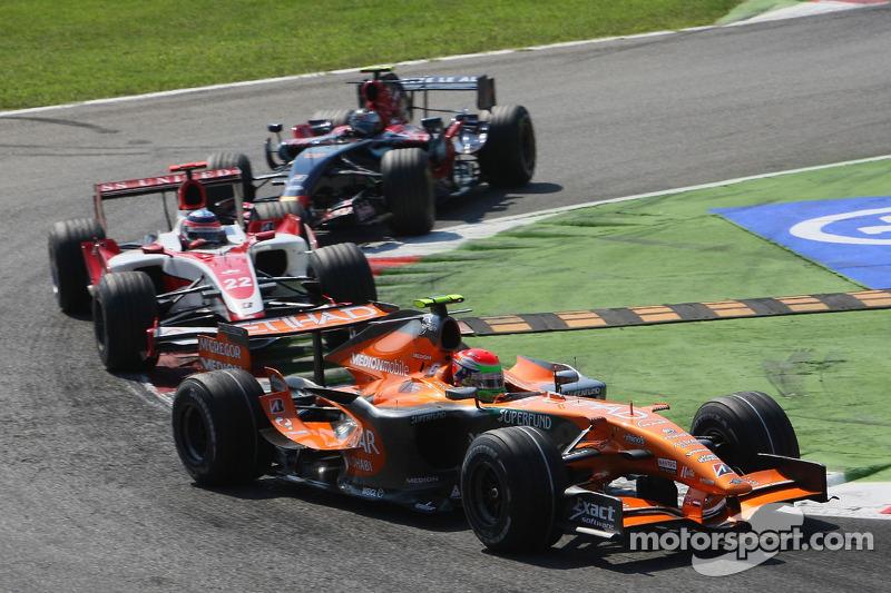 Sakon Yamamoto, Spyker F1 Team, F8-VII-B ve Takuma Sato, Super Aguri F1, SA07