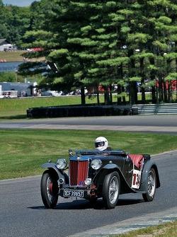 1939 MG TB - Driven by John Schieffelin