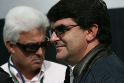Luis Garcia Abad, Manager of Fernando Alonso and Jose Luis Alonso father of Fernando Alonso