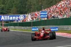 Kimi Raikkonen, Scuderia Ferrari, F2007, Felipe Massa, Scuderia Ferrari, F2007