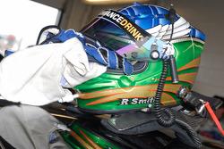 The helmet belonging to TRG Porsche driver Ross Smith