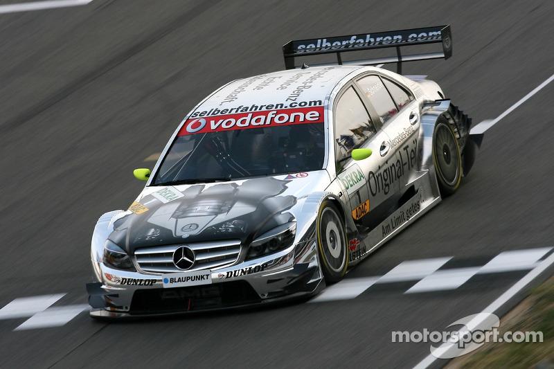 2007: Bernd Schneider (Mercedes) in Barcelona