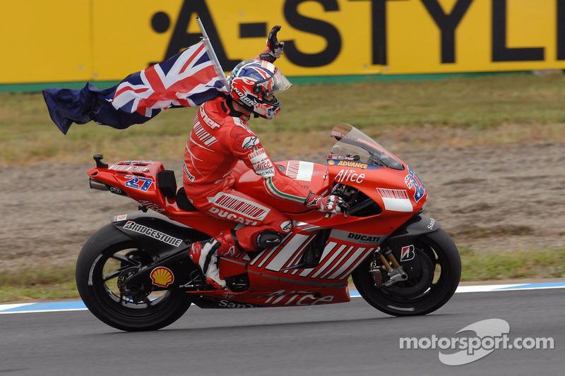 2007 - Casey Stoner, Ducati Marlboro Team