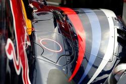 Red Bull Racing body work detail