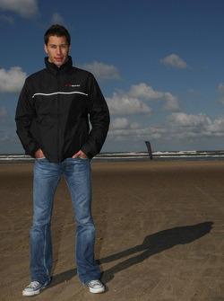 Blokarting: Loic Duval, driver of A1 Team France