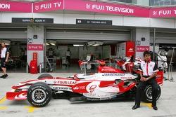 Super Aguri F1 Team, nouvelle Aguri Suzuki, Super Aguri F1 livrée