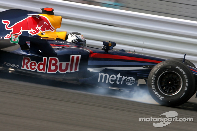 Red Bull 2007: David Coulthard, Red Bull RB3