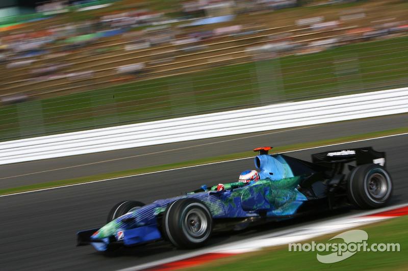 #7: Jenson Button, Honda Racing F1 Team, RA107