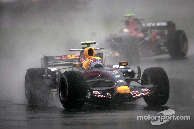 Mark Webber y Sebastian Vettel GP de Japón 2007