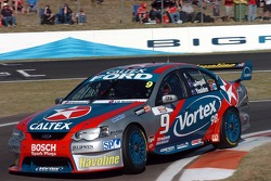 Russell Ingall in the pits