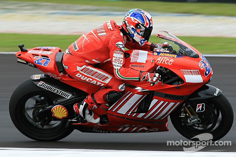 2007: Ducati Desmosedici GP7