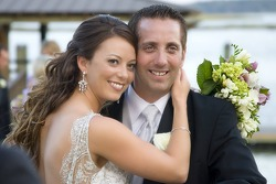 Biffle and his longtime girlfriend Nicole were pronounced husband and wife in a little white chapel at the Palmetto Bluff Resort in South Carolina