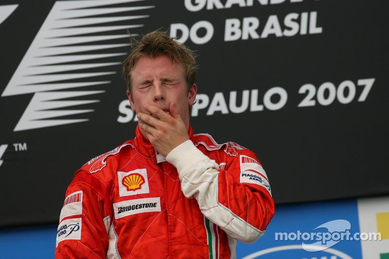 Grand Prix von Brasilien 2007 in Sao Paulo: Sieger und Weltmeister