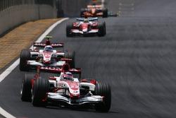 Takuma Sato, Super Aguri F1 Team, Anthony Davidson, Super Aguri F1 Team