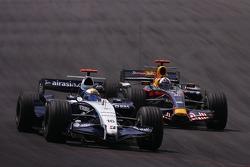 Nico Rosberg, WilliamsF1 Team, David Coulthard, Red Bull Racing