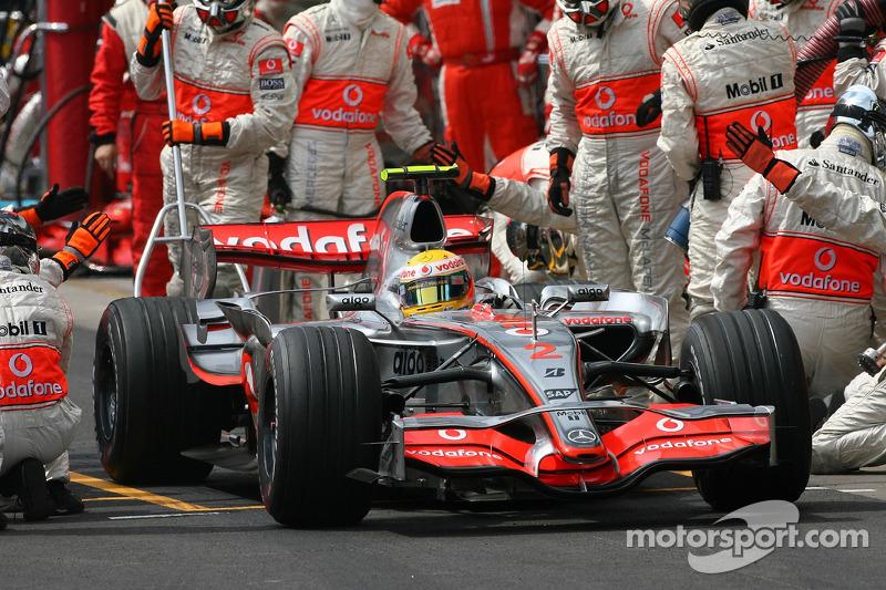 マクラーレンMP4-22・メルセデス(ルイス・ハミルトン/2007年ブラジルGP)