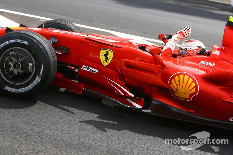 Kimi Raikkonen: campeón en 2007, 20 victorias
