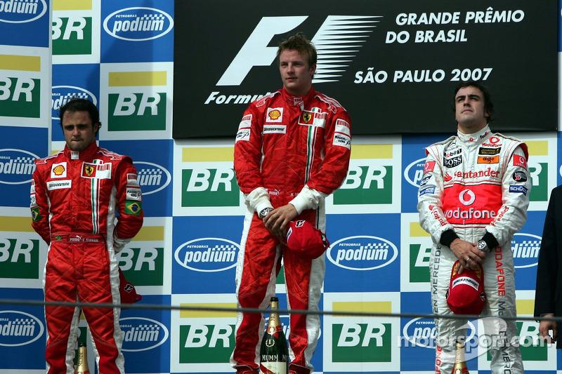 Gran Premio en el que ha sumado más podios: Brasil, con 8