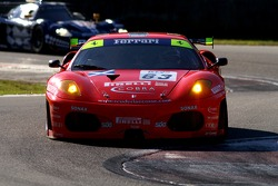 #63 Scuderia Ecosse Ferrari 430: Andrew Kirkaldy, Tim Sugden