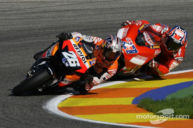 2007: MotoGP Valencia