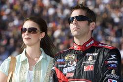 Greg Biffle with wife Nicole