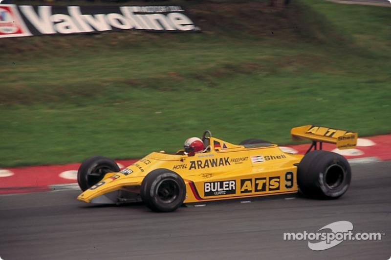 "8. <img src=""https://cdn-8.motorsport.com/static/img/cfp/0/0/0/200/208/s3/switzerland-3.jpg"" alt="""" width=""20"" height=""12"" />Marc Surer, 81 Grandes Premios (1979-1986), el mejor resultado es el 4° lugar en (Brasil 1981 e Italia 1985)."