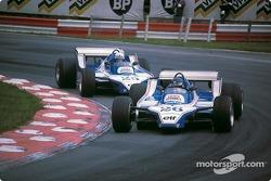 Jacques Laffite et Didier Pironi, Ligier-Ford