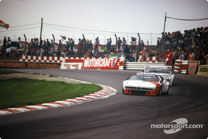 Jan Lammers in BMW Procar