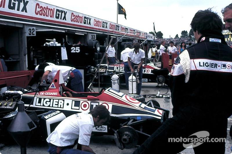 Les stands Ligier