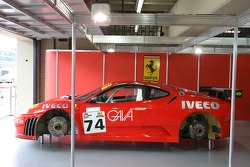 #74 JMB Racing Ferrari F430 GT