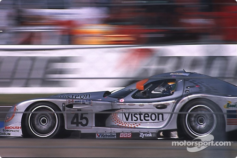 #45 Panoz Motor Sports Panoz GTR-1: David Brabham, Andy Wallace, Jamie Davies at 24 Hours of Le Mans