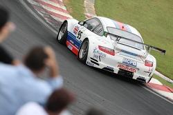 #95 James Watt Automotive Porsche 997 GT3 RSR: Paul Daniels, Richard Westbrook, Allan Simonsen, Bryce Washington