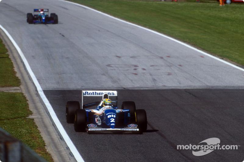 Williams 1994: Ayrton Senna, Williams FW16