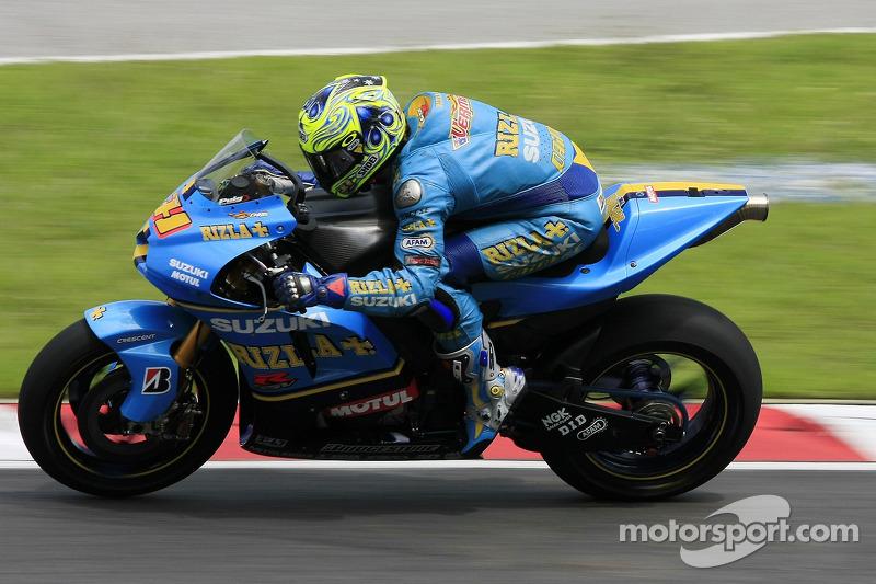 2007 - Chris Vermeulen, Rizla Suzuki MotoGP