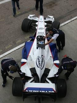 Christian Vietoris, Test Pilotu, BMW Sauber F1 Team. F3.07