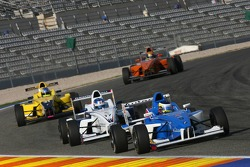 Carlos Huertas, Double R Racing and Adrien Tambay, Eurointernational