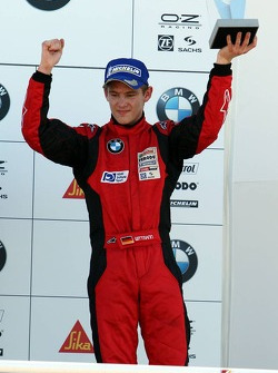 Podium: provisional third place Marco Witmann