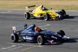 Josef Kral, Mücke Motorsport and Jonathan Legris, Motaworld Racing