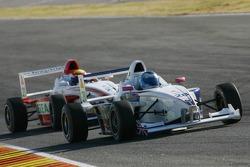Tom Gladdis, Master Motorsport and Doru Sechelariu, Fortec Motorsport