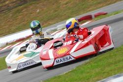 Felipe Massa and Lucas Di Grassi