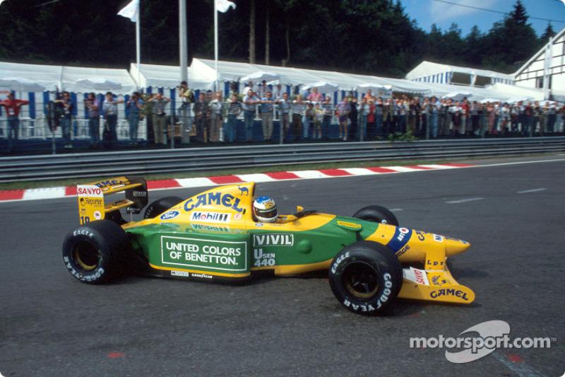 1992: Benetton B192