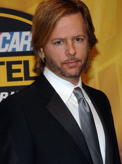 Actor David Spade arrives at the NASCAR Nextel Cup Series Awards Ceremony at the Waldorf Astoria