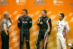David Coulthard, Colin McRae and Andy Priaulx