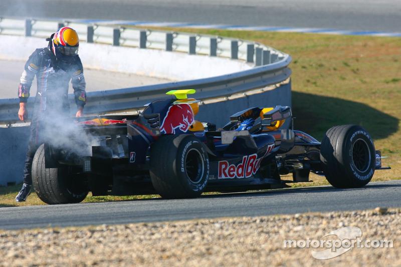 #15: Mark Webber, Red Bull Racing, RB3