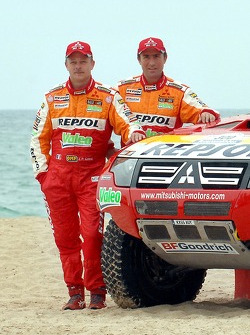 Repsol Mitsubishi Ralliart Team: Stephane Peterhansel y Jean-Paul Cottret